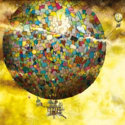 Schmidt Spiele Colin Thompson: Fantasztikus hőlégballon túra 1000 db-os (59400)