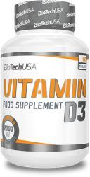 BioTechUSA Vitamin D3 tabletta - 60db