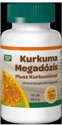 Zöldvér Kurkuma Megadózis plusz kurkuminnal kapszula - 90db
