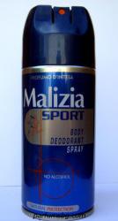 Malizia Sport (Alcohol Free) (Deo spray) 150ml