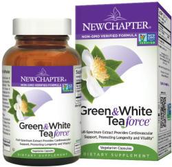 New Chapter Green & White Tea force kapszula - 60db