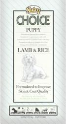 Nutro Choice - Puppy Lamb & Rice 12kg