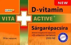 Vita+Active Sárgarépacsíra - 30db