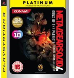 Konami Metal Gear Solid 4 [Platinum] (PS3)