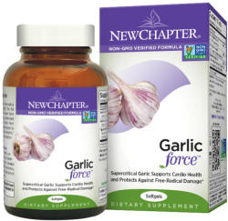 New Chapter Garlic Force fokhagyma-kivonat kapszula - 30db