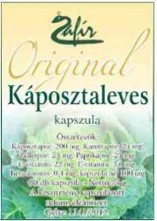 Zafír Káposztaleves kapszula - 60db