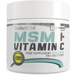 BioTechUSA MSM + Vitamin C - 150g