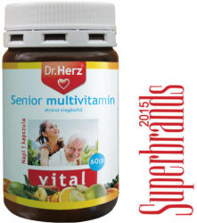 Dr. Herz Senior Multivitamin - 60db