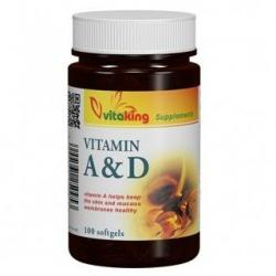 Vitaking A&D vitamin - 100db