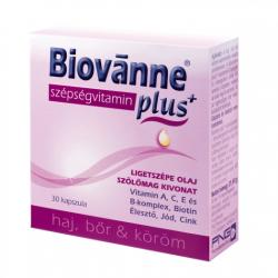 Biovánne Plus szépségvitamin kapszula - 30 db