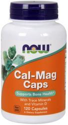 NOW Cal-Mag Caps Kalcium-Magnézium kapszula - 120 db