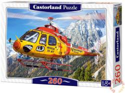 Castorland Hegyi mentőhelikopter 260 db-os