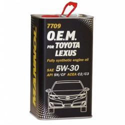 Mannol 7709 OEM for Toyota Lexus 5W30 (4L)