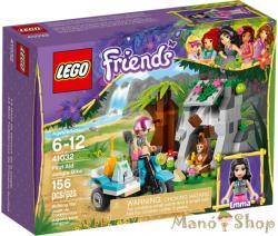 LEGO Friends - Elsősegélynyújtó dzsungelkerékpár (41032)