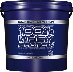 Scitec Nutrition 100% Whey Protein - 5000g