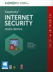 Kaspersky Internet Security 2016 Multi-Device EEMEA Edition (1 Device, 1 Year) KL1941ODAFS