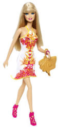 Mattel Barbie - Fashionistas - Trópusi Babák - Barbie 2014 (BHY12/BHY13)