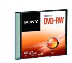 Sony DVD-RW 4.7GB 2X - vékony tok (DMW47SS)