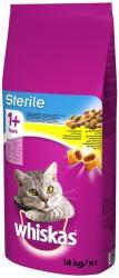 Whiskas 1+ Sterile Dry Food 14kg