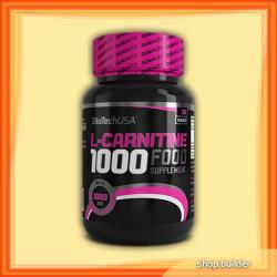 BioTechUSA L-Carnitine 1000mg - 30 caps