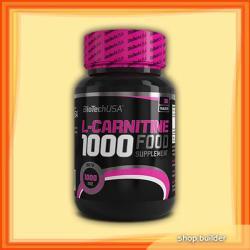 BioTechUSA L-Carnitine 1000mg - 30 caps