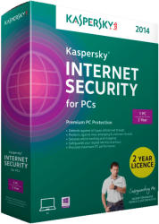 Kaspersky Internet Security 2014 Multi-Device (1 User, 1 Year) KL1941OBAFS