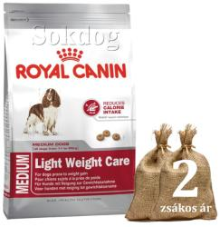 Royal Canin Medium Light Weight Care 2x13kg