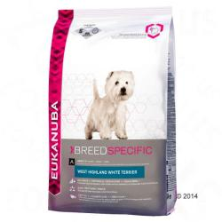 Eukanuba West Highland White Terrier 3 x 2,5kg