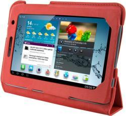 4World 4-Fold Slim for Galaxy Tab 2 7.0 - Red (09120)