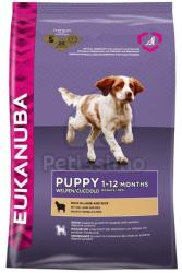 Eukanuba Puppy & Junior rich in Lamb & Rice 2 x 12kg
