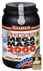 Weider Super Mega Mass 2000 - 1500g
