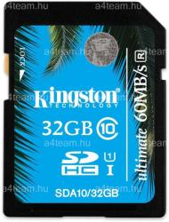 Kingston SDHC Ultimate 32GB UHS-I Class 10 SDA10/32GB