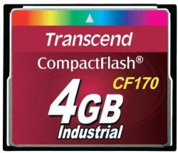 Transcend CompactFlash 4GB 170x TS4GCF170