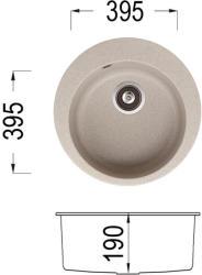 Lino Karina 505 Мивка за вграждане