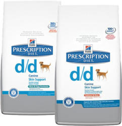 Hill's PD Canine d/d - Salmon Rice 2x12kg