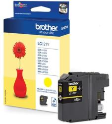 Brother LC121Y Yellow