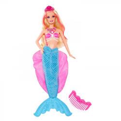Mattel Barbie - A Gyöngyhercegnő - Lumina sellő (BDB45)