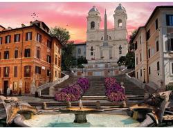 Clementoni A Spanyol lépcső, Róma 1000 db-os (39219)
