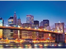 Clementoni Brooklyn-híd, New York 1000 db-os (39199)