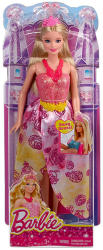 Mattel Barbie - Tündérmese hercegnők - rózsaszín Barbie (CBV51/BCP17)