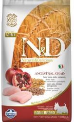 Farmina N&D Low Grain Adult Mini Chicken & Pomegranate 2,5kg