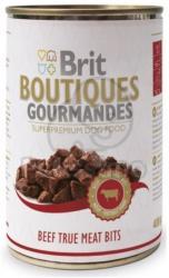 Brit Boutiques Gourmandes Beef True Meat Bits 24 x 400g