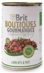 Brit Boutiques Gourmandes Lamb Bits & Paté 24 x 400g