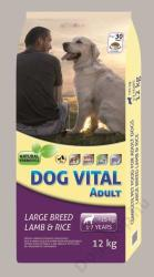 DOG VITAL Adult Large Breed Lamb&Rice 12kg