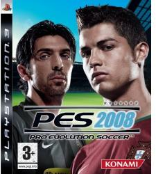 Konami PES 2008 Pro Evolution Soccer (PS3)