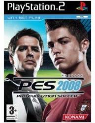 Konami PES 2008 Pro Evolution Soccer (PS2)