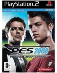 Konami PES 2008 Pro Evolution Soccer (PS2)