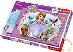 Trefl Maxi Puzzle - Disney Szófia hercegnő 24 db-os (14208)