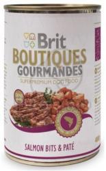 Brit Boutiques Gourmandes Salmon Bits & Paté 24 x 400g