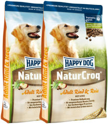 Happy Dog NaturCroq Adult Rind & Reis 2 x 15kg